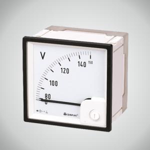 AC Voltmeter with rectifier 90°